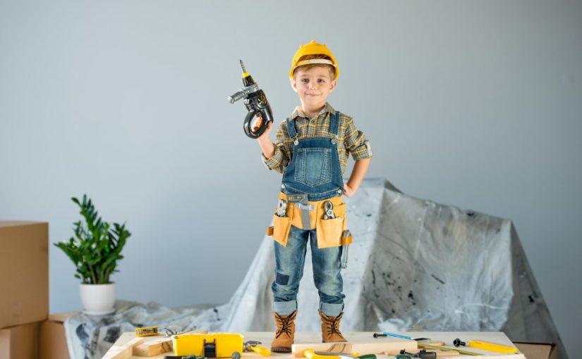Legeværktøj er et gavehit til både piger og drenge